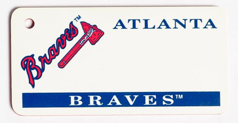 Altanta Braves Key Tag