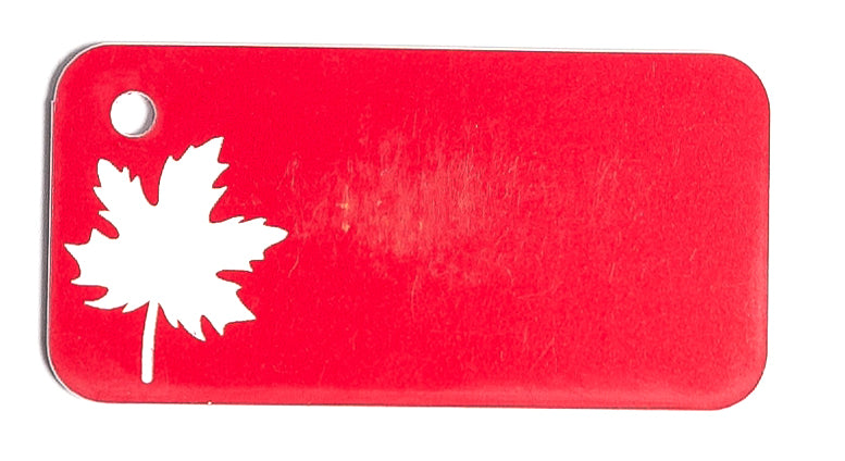 Maple Leaf Key Tag