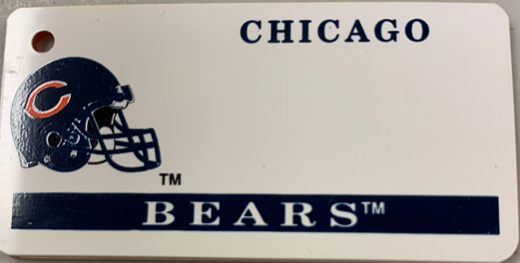 Chicago Bears Key Tag