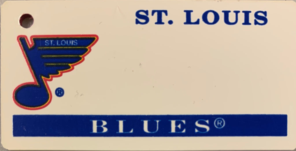 St. Louis Blues Key Tag
