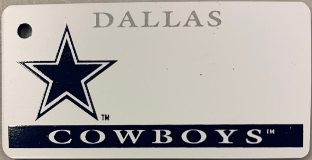 Dallas Cowboys Key Tag