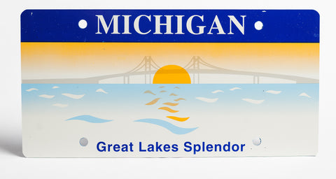 Michigan Key Tag