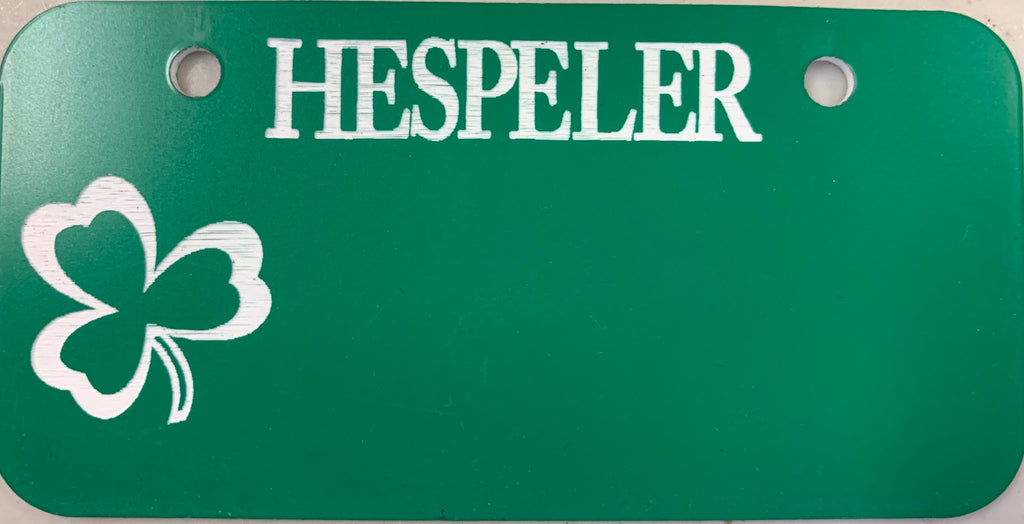 Hespeler Bicycle Plate