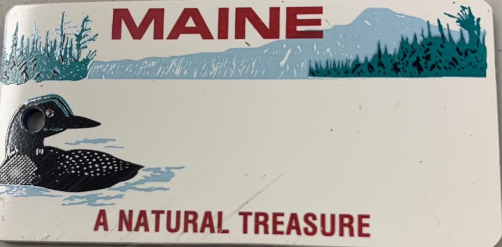Maine Key Tag