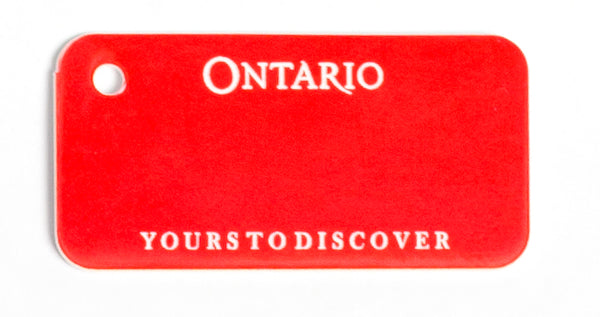 Ontario Key Tag - Current