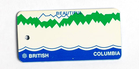 British Columbia Key Tag