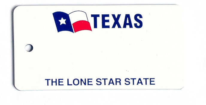 Texas Key Tag