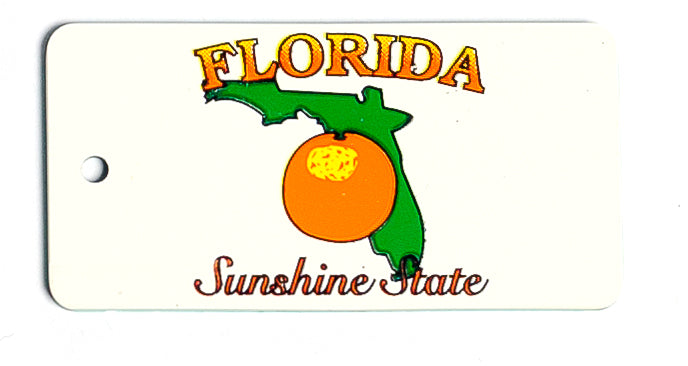 Florida Key Tag