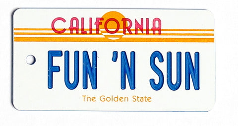 California Sun Key Tag