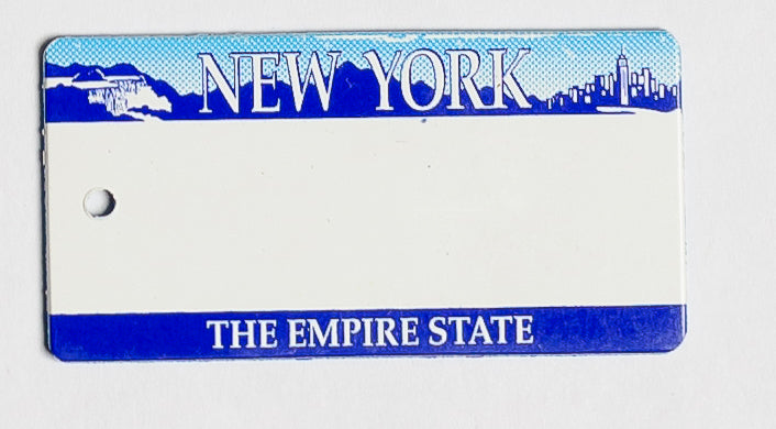 New York Key Tag