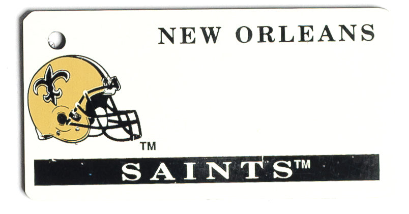New Orleans Saints Key Tag