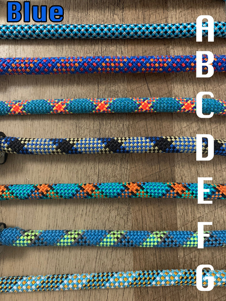 Custom Climbing Rope Slip-Leads - Just Pet Products
