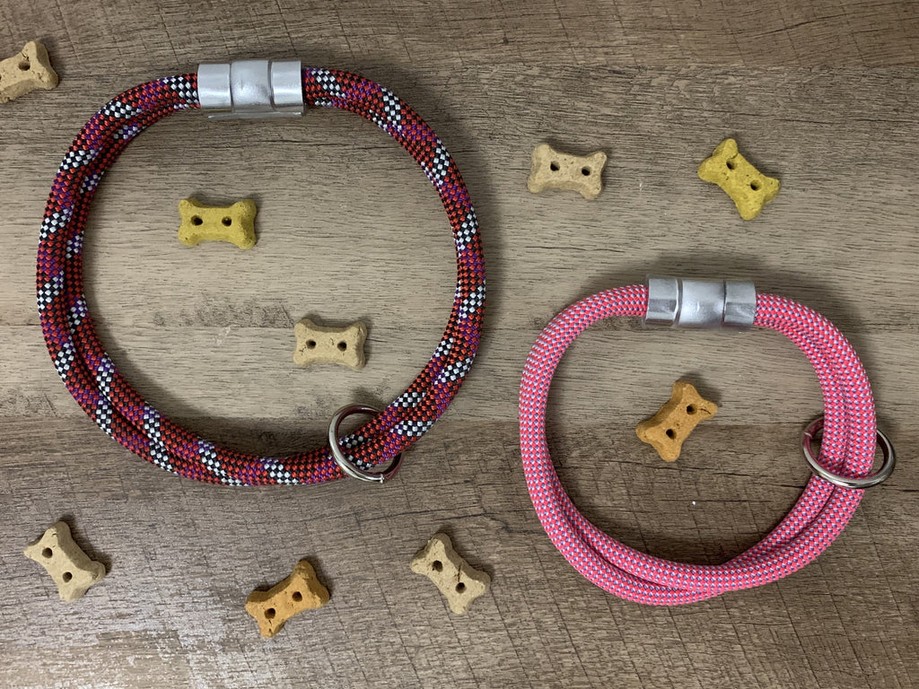 Custom Climbing Rope Collar - Just Pet Products
