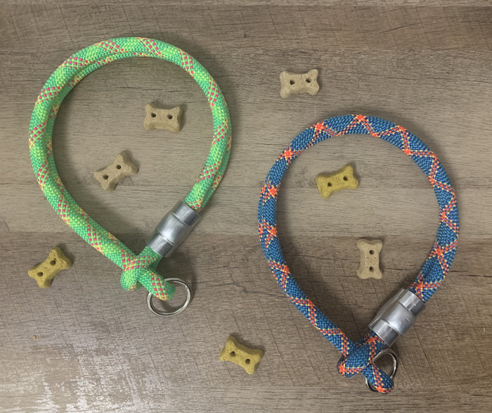 Custom Climbing Rope Collar Tightening - Just Pet Products