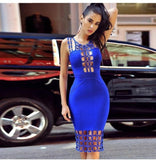 Charlotte Bandage Dress - Blue, Dresses, [product_color]