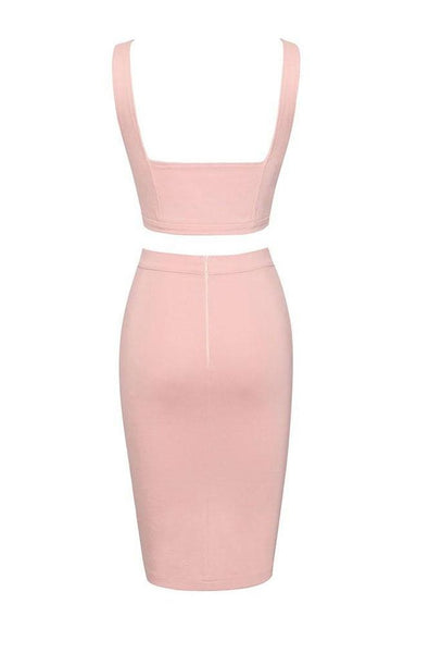 Hayley Two Piece Set - Pink, Two-Pieces, [product_color]