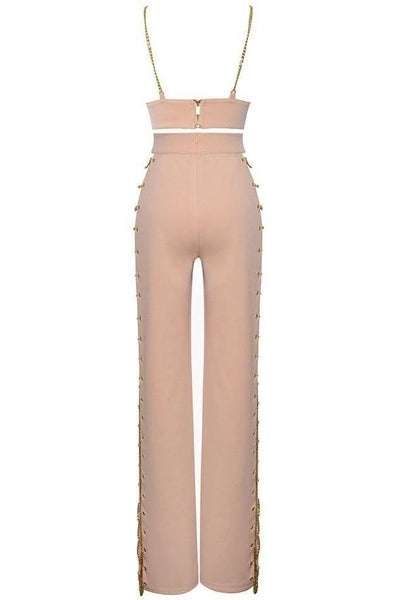 Trinity Two Piece Bodycon Set - Pink, Two-Pieces, [product_color]