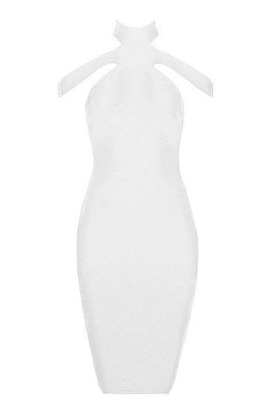 Kameron Bandage Dress - White, Dresses, [product_color]