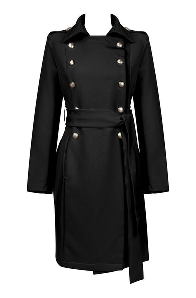 Baby Bodycon Coat - Black, Dresses, [product_color]