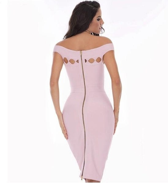 Paisley Bandage Dress - Light Purple, Dresses, [product_color]