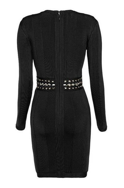 Victoria Bandage Dress - Black, Dresses, [product_color]