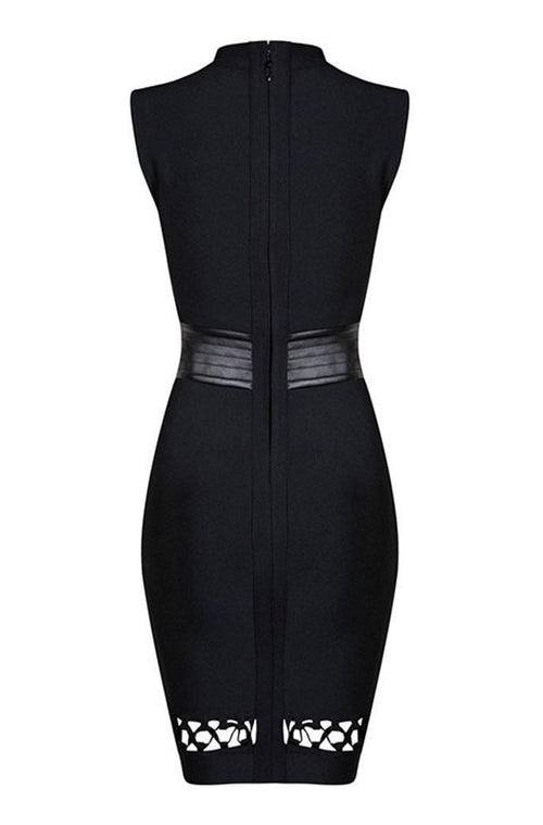 Guilliana Bandage Dress - Black, Dresses, [product_color]