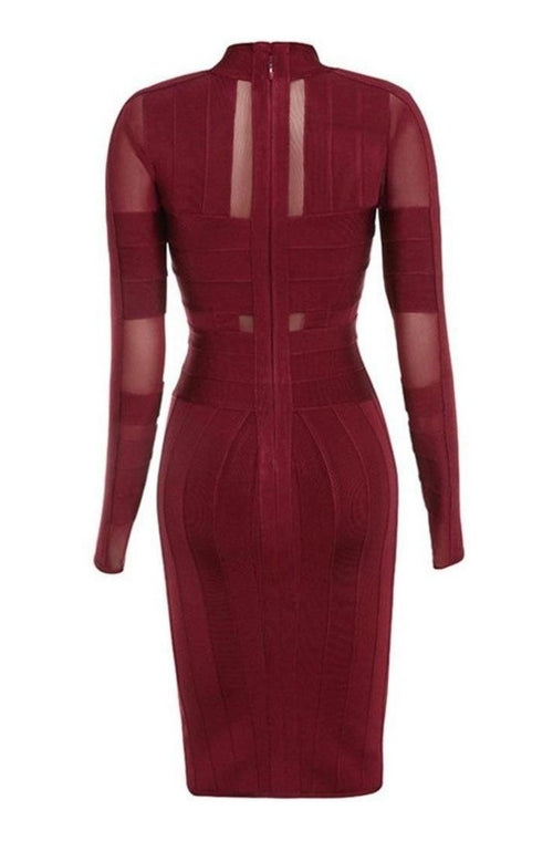 Sabrina Bandage Dress, Dresses, [product_color]