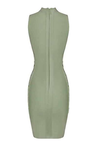 Lucille Bandage Dress - Green, Dresses, [product_color]