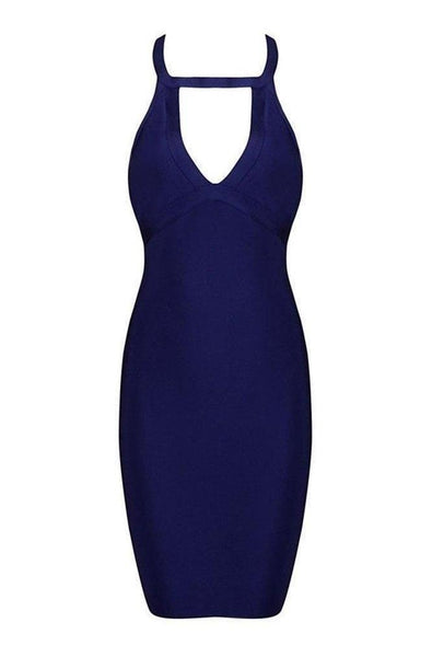 Roxanne Bandage Dress - Blue, Dresses, [product_color]