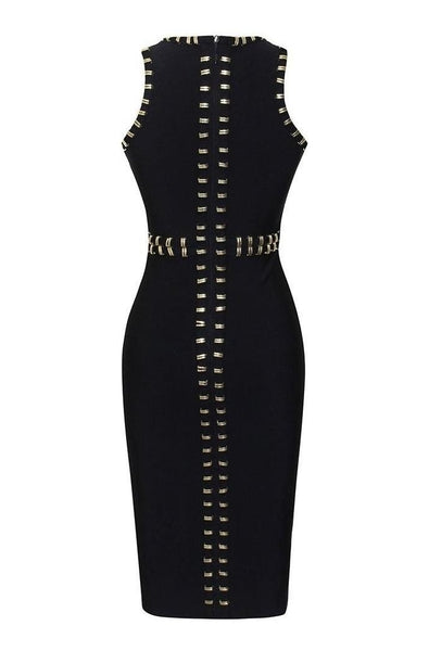 Harlow Bandage Dress - Black, Dresses, [product_color]