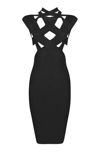 Revel Bandage Dress - Black, Dresses, [product_color]