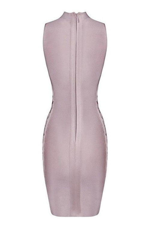 Giselle Bandage Dress - Pink, Dresses, [product_color]