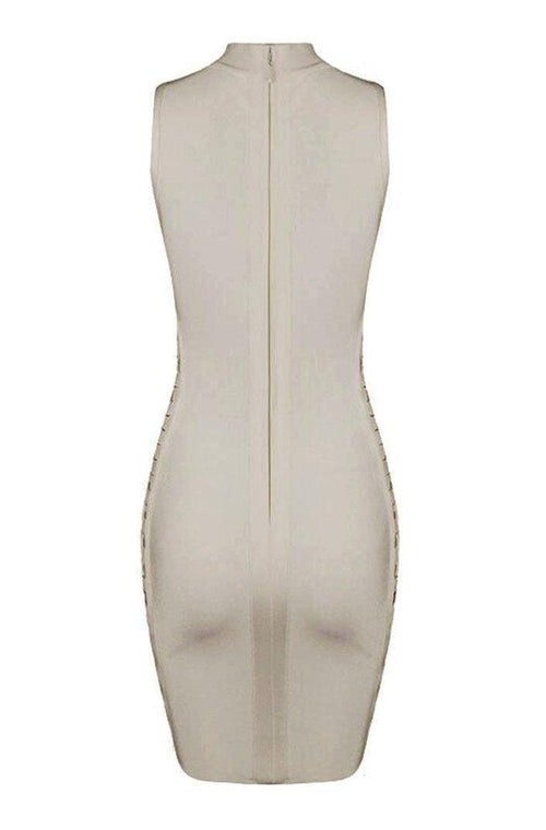 Giselle Bandage Dress - Nude, Dresses, [product_color]