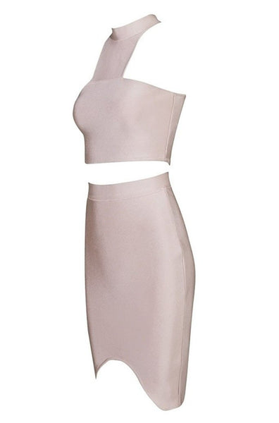 Meredith Bandage Two-Piece - Nude, Two-Pieces, [product_color]