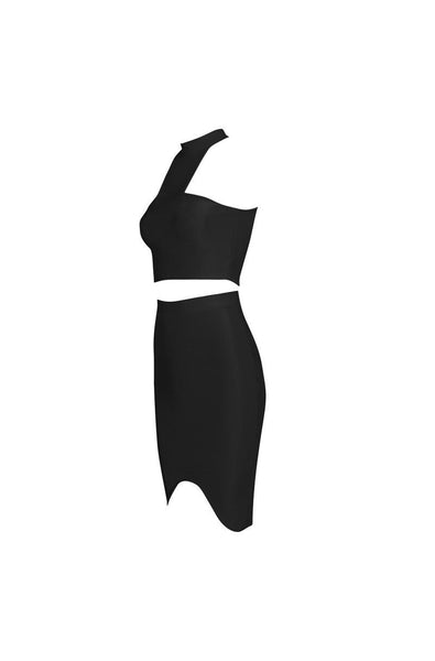 Meredith Bandage Two-Piece Set - Black, Two-Pieces, [product_color]