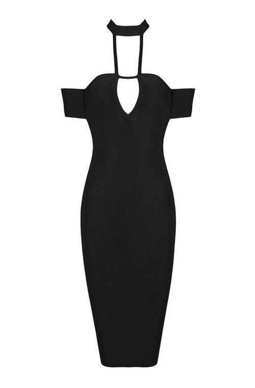 Nadia Bandage Dress - Black, Dresses, [product_color]