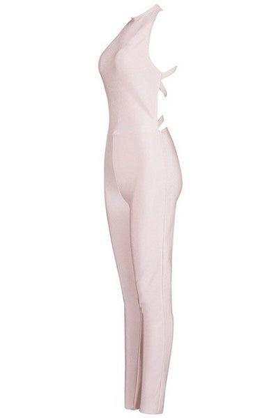 Olivia  Jumpsuit -  Beige, Jumpsuits, [product_color]