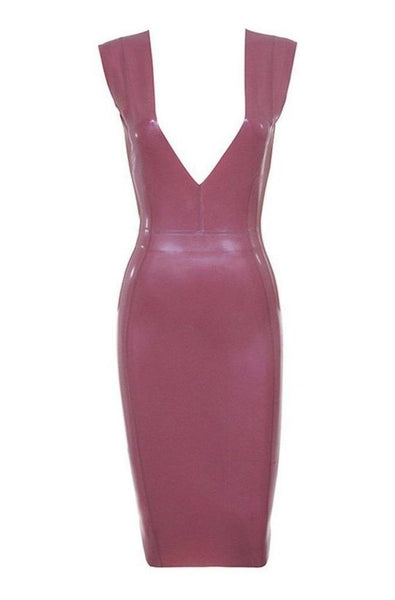 Khloe Leather Bodycon Dress, Dresses, [product_color]