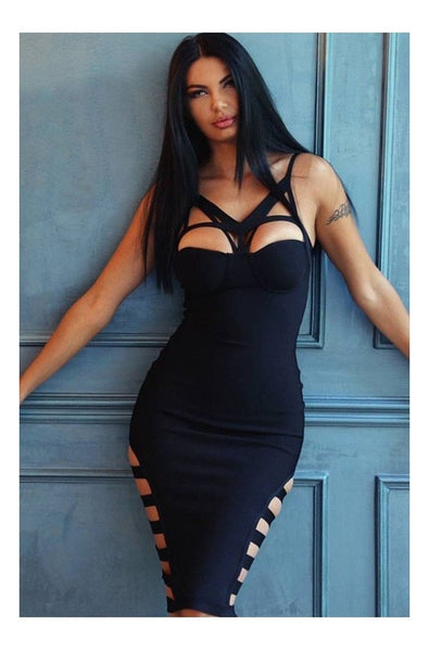 Brooklyn Bandage Dress - Black, Dresses, [product_color]
