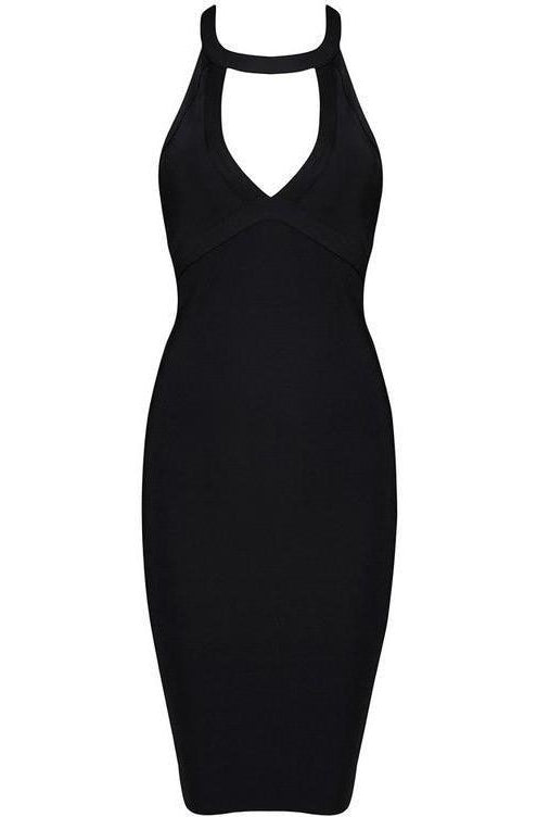 Roxanne Bandage Dress - Black, Dresses, [product_color]