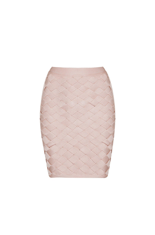 Yvette Skirt - Nude, Skirts, [product_color]