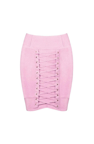 Sirenne Skirt - Pink, Skirts, [product_color]