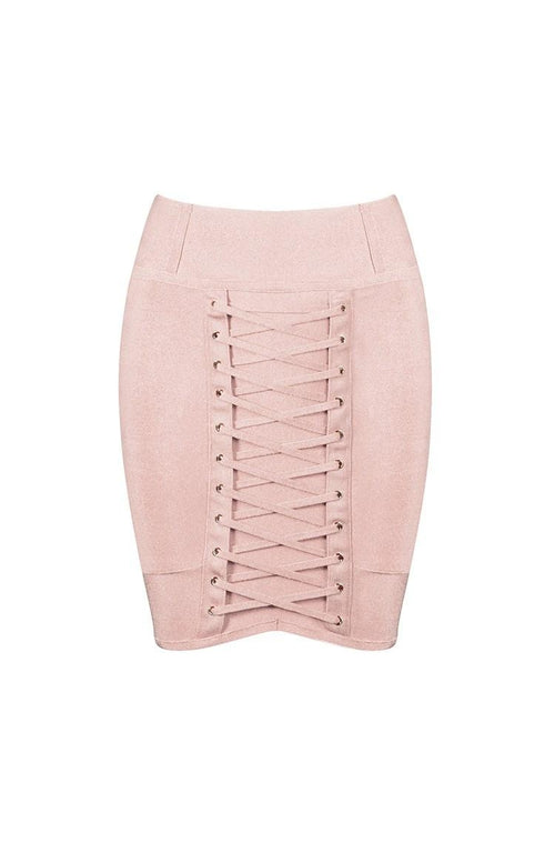 Sirenne Skirt - Nude, Skirts, [product_color]