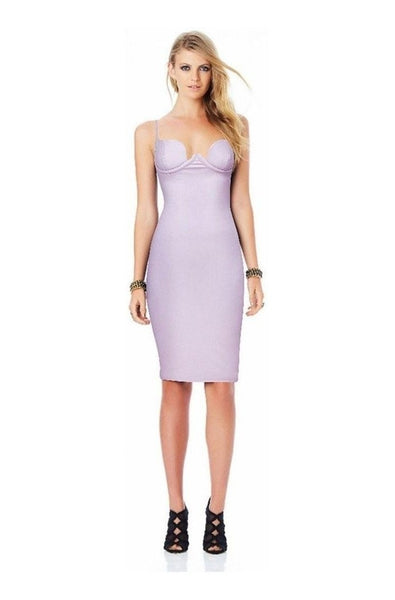 Arabella Leather Dress - Purple, Dresses, [product_color]
