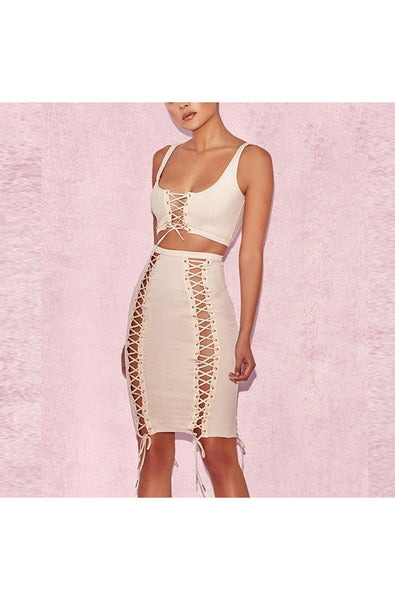 Hayley Two Piece Set - Beige, Two-Pieces, [product_color]