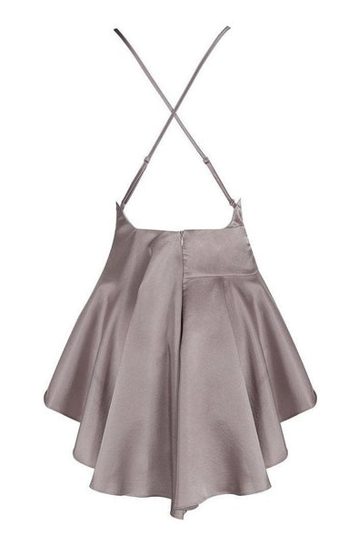 Reid Bodycon Dress - Gray, Dresses, [product_color]