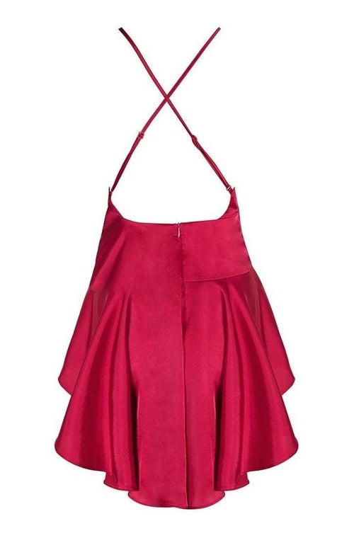 Reid Bodycon Dress - Red, Dresses, [product_color]