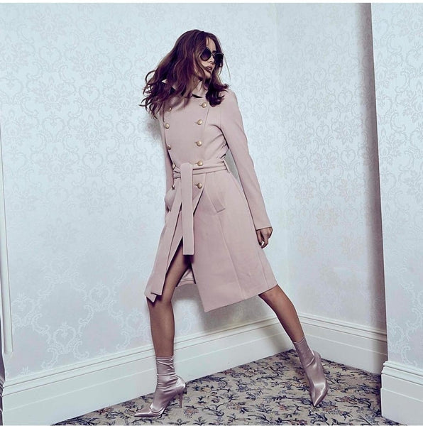 Baby Bodycon Coat - Pink, Dresses, [product_color]