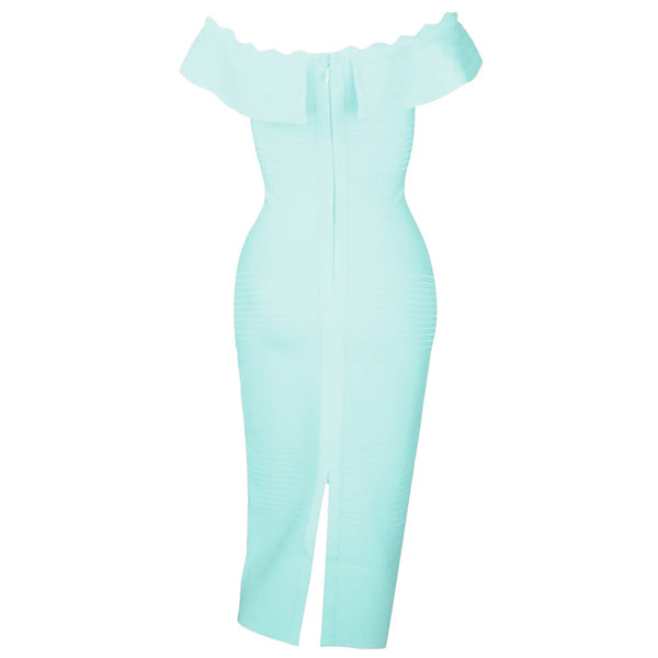 Sandya Bandage Dress - Light Green, Dresses, [product_color]