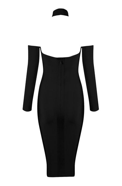 Harper Bandage Dress - Black, Dresses, [product_color]